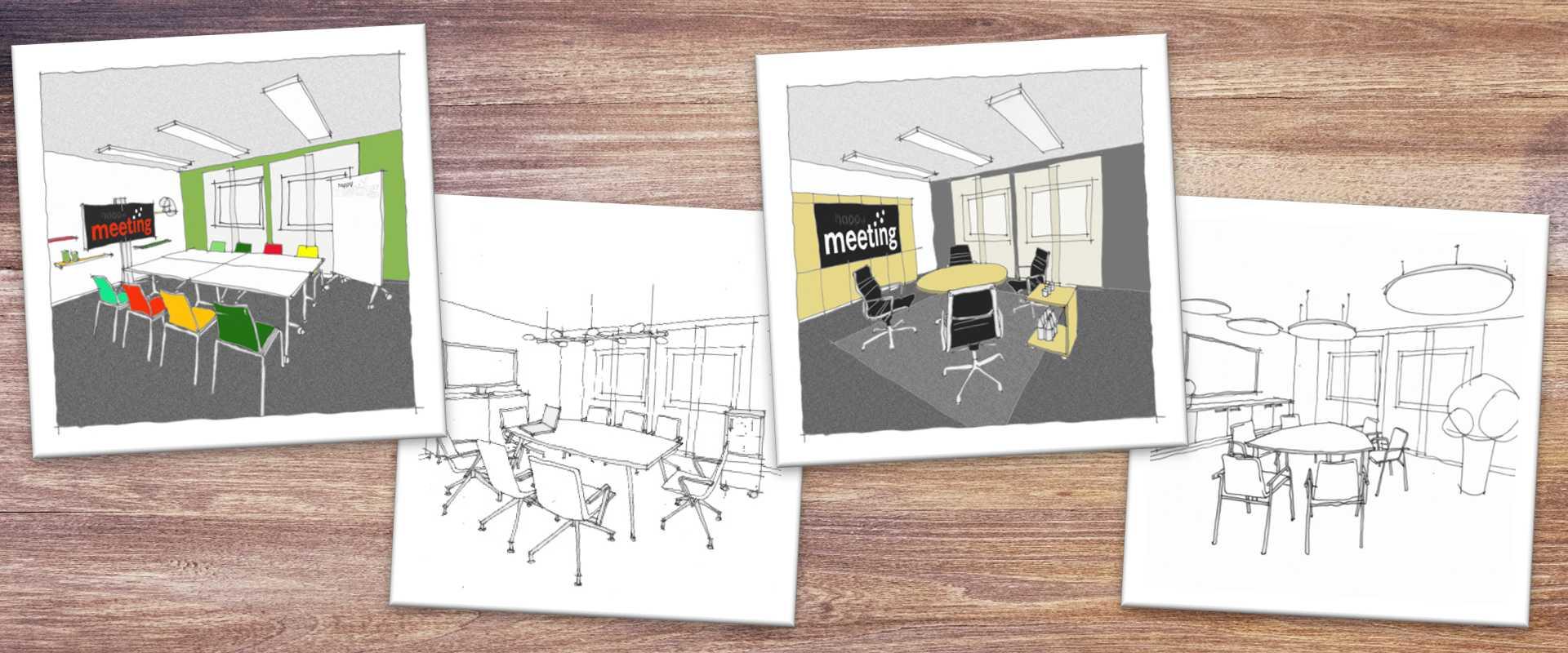 Einrichtungsideen für moderne Besprechungsräume